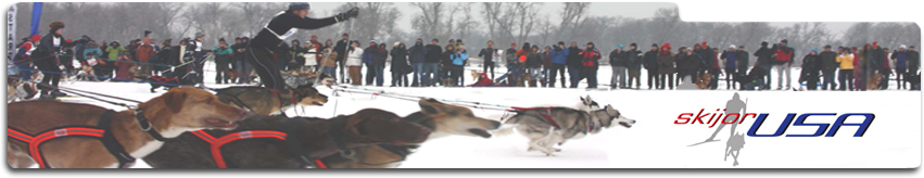 Skijor USA - XC ski sled dog racing in the United States
